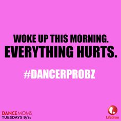 How does dance relate to life?