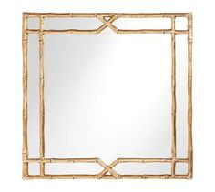 """Jasmine Bamboo Mirror 