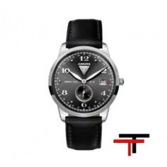 Chronograph, Smart Watch, Watches, Leather, Accessories, Classic Mens Style, Black, Men, Clocks
