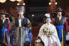 The Last Empress Wedding Scene, Wedding Ceremony, Jang Nara, She Drama, Lee Hyuk, Choi Jin, Korean Wedding, Korean Hanbok, Drama Korea