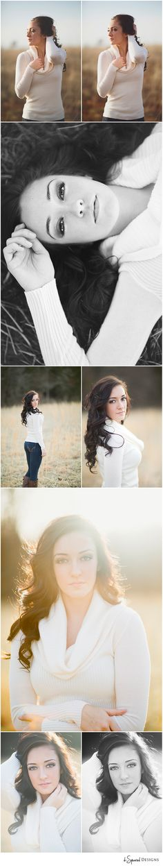 d-Squared Designs Southeast Missouri Teen Photography. Gorgeous girl. Stylish. Country fields.