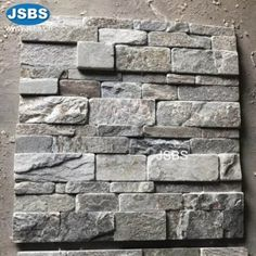 Product name: Tumbled Stone Veneer Place of Origin: Hebei,China(Mainland) Brand Name: JSBS Model Number: Surface Finishing: Natural Split S Stone Cladding Exterior, Natural Stone Cladding, Natural Stone Veneer, Stone Facade, Natural Stones, Stone Tattoo, Cool Pictures, Beautiful Pictures, Stone Road