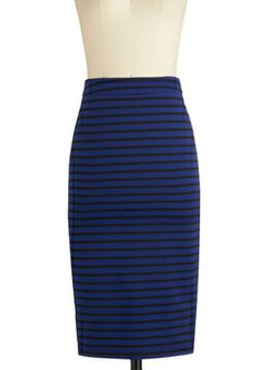 A Competitive Edginess Skirt, #ModCloth