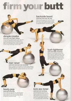 Workout for your bootay!