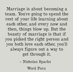 "A collection of the best Being A Team In A Relationship Quotes with images to share with your family and relation fellows. Scroll down and keep reading these ""Top Being A Team In A Relationship Quotes"" and keep sharing with friends. Now Quotes, Life Quotes Love, Quotes To Live By, Let Down Quotes, Team Quotes, Marriage Relationship, Love And Marriage, Quotes Marriage, Happy Relationships"