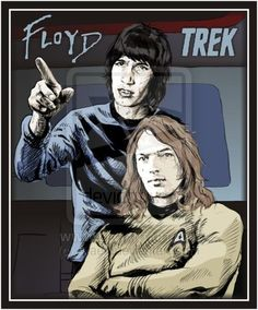 Captain Dave and Mr. Rog by Araen.deviantart.com on @DeviantArt~They made the right choice on who should be Captain...