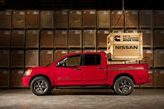 Nissan Titan Cummins Turbo Diesel Japanese carmaker Nissan made an announcement according to which the company will offer a new Nissan Titan Truck, 2015 Nissan Titan, Nissan Trucks, Nissan V8, Cummins Diesel Engines, Cummins Turbo Diesel, Diesel Trucks, Titan Diesel, Autos