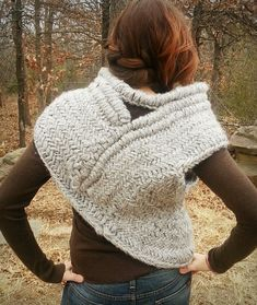 PostRevolution Hunting Cowl with Vest Knitting by WoolfsClothing