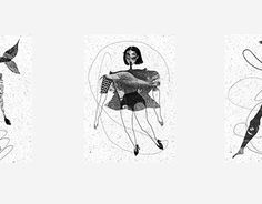 A series of six compositions with various characters. I played with black and white, textures and shapes in order to find harmonious compositions. Working On Myself, New Work, Composition, Behance, Characters, Texture, Black And White, Gallery, Illustration