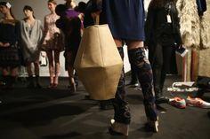 #AsliJackson #Backstage #MercedesBenzFashionWeekIstanbul #Fall #Winter2015 #Nasreddin #Hoca #model #bag #çanta