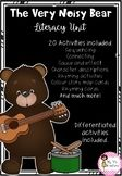 The Very Noisy Bear Literacy Unit Rhyming Activities, Writing Activities, Sentence Building, Writing Resources, Literacy, The Unit, Bear, Education, School