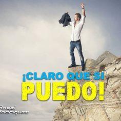 Comienza tu semana con un gran: ¡Yo si PUEDO! y vence tus miedos y creencias limitantes. Refuerza tu autoconfianza y alcanza todo aquello que sueñas.  #lifecoach #angelrodm #felizsemana #felizlunes #autoconfianza #liderazgo #actitud #motivacion #crecimientopersonal #coach #coachee #consultoria #asesoria #gerencial #ciudaddepanama #panamacity #bogota #medellin #caracas #valencia #maracay #venezuela