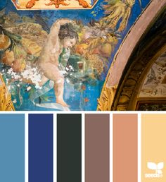 color palette - color antiquity