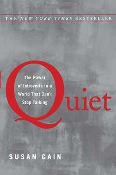 Quiet: The Power of Introverts in a World That Can't Stop Talking: http://www.amazon.com/Quiet-Power-Introverts-World-Talking/dp/0307352145/?tag=done0d4-20