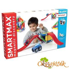 SmartMax is the magnetic discovery concept that enables children, even from a very early age, to experience both the wonders of magnetism and the fascinating world of construction in a safe way. Stem Skills, Fine Motor Skills, Building Toys, Child Development, Stunts, Educational Toys, Kids Learning, Activities, Games