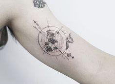 Compass World map #tattooistflower #tattoo#tattoos #flowertattoo #colortattoo #europetattoo #rosetattoo#peony#peonytattoo#cherryblossom#compasstattoo#worldmap#cherryblossomtattoo#타투 #컬러타투 #꽃타투 #장미타투