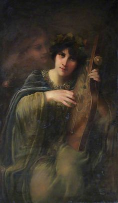♪ The Musical Arts ♪ music musician paintings - Beatrice Offor