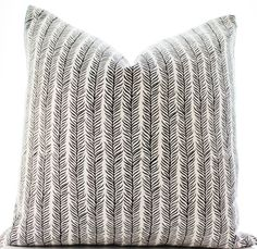 Indian Block Print Textile Pillow Cover Ethnic by Boho Pillow #bohopillow