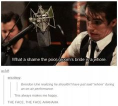 Brendon is so adorable