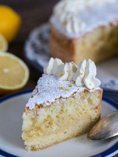 recipe for sweden cake I Love Food, A Food, Food And Drink, Single Layer Cakes, Fika, Piece Of Cakes, Vanilla Cake, Bakery, Cheesecake