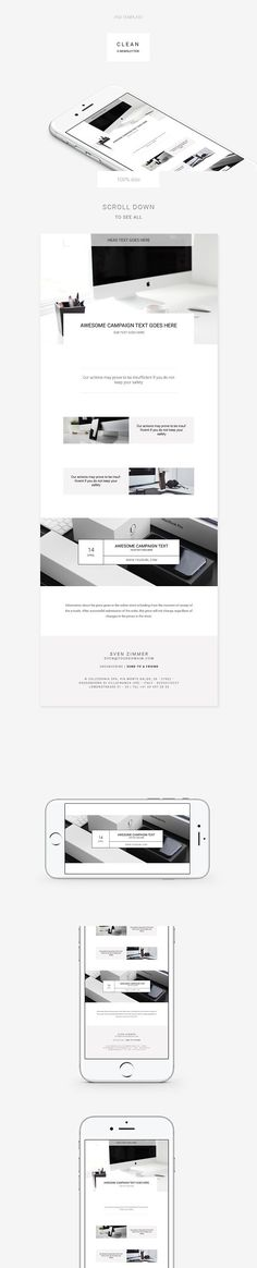 Business Email Template  Business Emails Template And Business