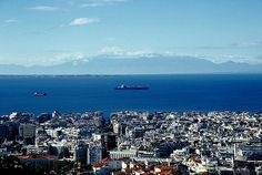 Thessaloniki from above