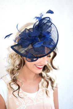 14b5fe329 25 Best Shades of Blue's Fascinator Styles & Trends images in 2019 ...