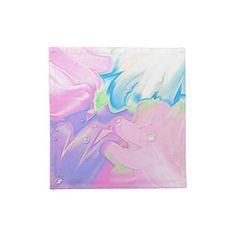 4 Stoffservietten Soft pastell abstrakt