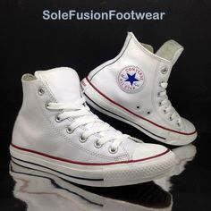 db215613a4f6 Converse Ct 132169C Hi Leather - White Unisex Trainers UK 13 - EU 48 for  sale online