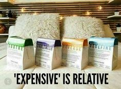"""How many people have you heard say """"Rodan + Fields is just SO EXPENSIVE....."""" and then they swipe their card at Starbucks for a $5 coffee☕️?? Or, they swipe their card monthly on fake nails that cost $50+??  Well """"expensive"""" is relative. To me, purchasing a one month supply of face wash + face cream from a drugstore that doesn't work, IS expensive; it's like throwing money in a trash can. NOW THAT'S EXPENSIVE   Purchasing America's #1 Premium Anti-Aging Skincare Regimen for less than $2…"""