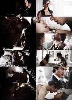 Delena moments Season 4. The Vampire Diaries <3