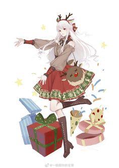 Anime Angel Girl, Cool Anime Girl, Beautiful Anime Girl, Amaterasu, Anime Artwork, Anime Outfits, Me Me Me Anime, Webtoon, Amazing Art