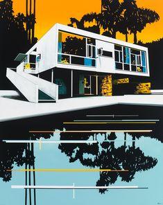 paul-davies-Seidler-House-Sunset