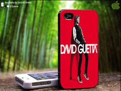 David Guetta Cover Red Album Design For iPhone 5 / 4 by SidePucket, $15.89