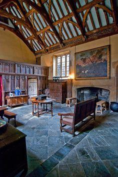 wanderthewood:  The Great Hall at Lytes Cary, Somerset, EnglandbySprackarts