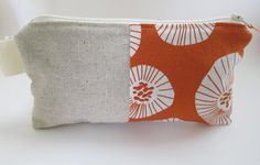lotta jansdotter fabric  + linen + adorable zip pouch!