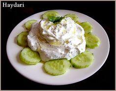 Mezze turc au fromage blanc