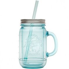 Aladdin | Original Mason Jar dubbelwandig 0,47 L - BPA-vrij Kunststof Aqua 1 st. | Default