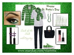 Happy St. Patty's Day!  Compliment your green with Mary Kay!  ORDER:  www.marykay.com/vcarretta