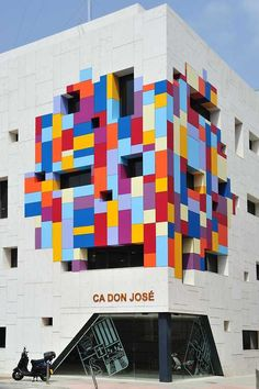 Lego Public Building | Cultural Centre 'Ca Don José' in Canals, Spain. Architect: Hector Luengo Architects. Moden abstract design Architecture.