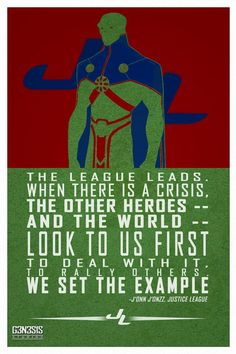 Martian Manhunter quote