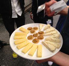 Ett urval av härliga ostar.