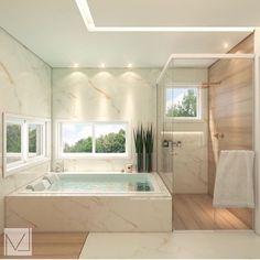 Dream Home Design, Modern House Design, Home Interior Design, Dream Bathrooms, Dream Rooms, Luxury Homes Dream Houses, Bathroom Design Luxury, Aesthetic Rooms, House Rooms