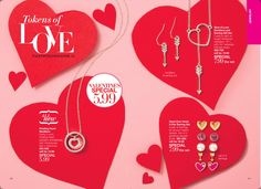 Have you checked out the cute Valentine jewelry Avon has to offer? Go to www.youravon.com/lcrayton