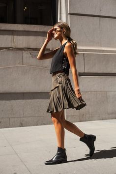 Street style | Edgy summer outfit