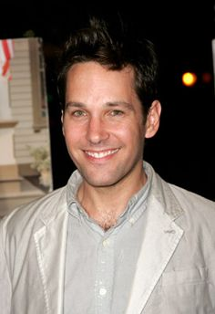 Paul Rudd - favourite dinner guest (when I have my pretend dinner party)