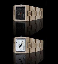 Wooden watch! *drool*