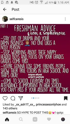 Freshman, freshman year, high school hacks, school tips, college ha High School Hacks, Life Hacks For School, School Study Tips, School Tips, School Goals, Prep School, Highschool Freshman, Freshman Year, School Emergency Kit