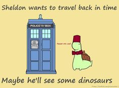 Sheldon The TimeLord