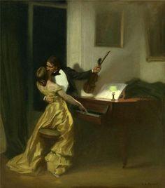 Sonata Kreutzer - René-Xavier Prinet (1861-1946)